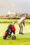 Golf del gioco Fotografia Stock