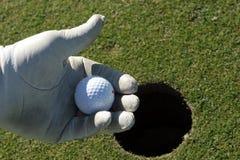 Golf del juego Foto de archivo libre de regalías