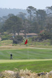 Golf del Pebble Beach Fotografie Stock Libere da Diritti