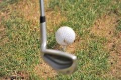 golf del randello di sfera Fotografia Stock Libera da Diritti