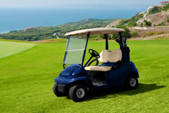 golf dell'automobile Fotografie Stock Libere da Diritti