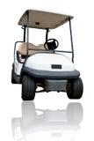 Golf dell'automobile su fondo bianco Fotografia Stock
