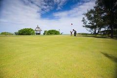 Golf della famiglia Fotografia Stock Libera da Diritti