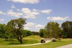 Golf an den Calloway Gärten Stockbild
