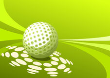 Golf design Stock Image