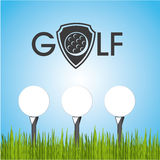 Golf design Royalty Free Stock Photos