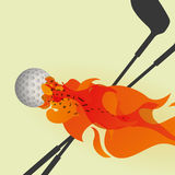 Golf design. Golf digital design, vector illustration 10 eps graphic Royalty Free Stock Photo