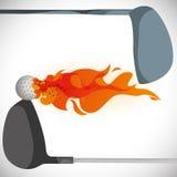 Golf design. Golf digital design, vector illustration 10 eps graphic Royalty Free Stock Image