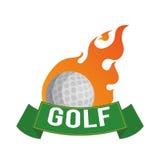 Golf design. Golf digital design, vector illustration 10 eps graphic Stock Photos