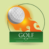 Golf design. Golf digital design, vector illustration 10 eps graphic Royalty Free Stock Photos