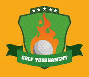 Golf design. Golf digital design, vector illustration 10 eps graphic Royalty Free Stock Images