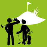 Golf design Royalty Free Stock Photo