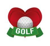 Golf design Stock Photo