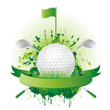 golf design elements Stock Image