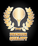 Golf design Stock Images