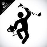Golf design Stock Photos