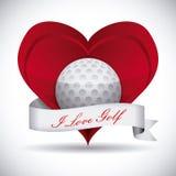 Golf design Royalty Free Stock Photos
