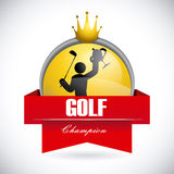 Golf design Royalty Free Stock Image