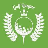Golf design Stock Photography