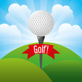 Golf design Stock Photo