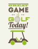 Golf design vector illustration