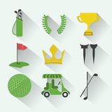 Golf design Royalty Free Stock Images
