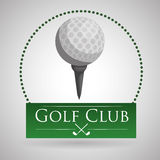 Golf design. Sport icon.  illustration, editable vector Royalty Free Stock Images