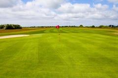 golf di corso Immagini Stock