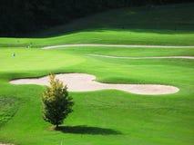 golf di corso Immagine Stock Libera da Diritti