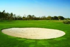 golf di corso fotografie stock libere da diritti