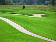 golf di corso Fotografia Stock