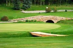 golf di corso Immagine Stock
