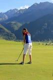 Golf di elevata altitudine Fotografie Stock