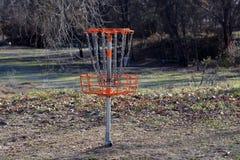 Golf di frisbee Immagini Stock