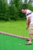 Golf di Putt di Putt Fotografia Stock Libera da Diritti