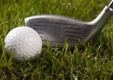 Golf drive Royalty Free Stock Photography