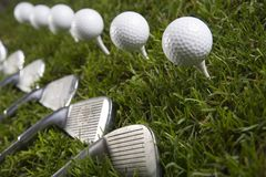 Golf drive Royalty Free Stock Photo