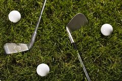 Golf drive Stock Image