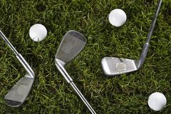 Golf drive Stock Images