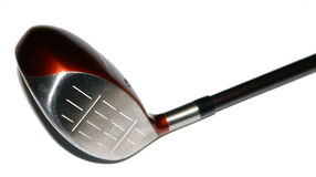 Golf Driver. Isolated golf driver Stock Images