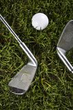 Golf, driver and ball Royalty Free Stock Photography
