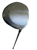 Golf Driver with clip path. This is my 1 wood, I do a lot of damage with it...to the grass that is Royalty Free Stock Photo