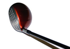 Golf Driver Top View Stock Photography