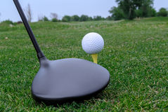 Golf driver Royalty Free Stock Photos