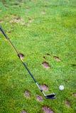 Golf driving range Stock Photos