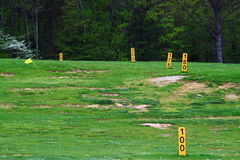 Golf Driving Range Field Royalty Free Stock Photography