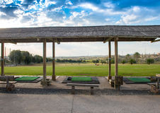 Golf Driving Range Royalty Free Stock Photos