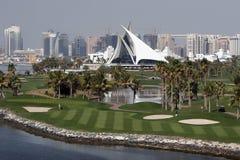 golf du Dubaï de cour Images libres de droits