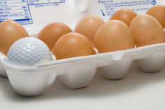 Golf Egg Stock Image