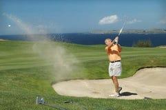 Golf - el desvío Fotografía de archivo